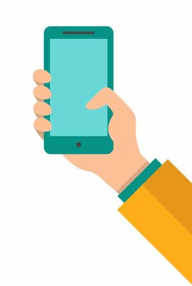 hand-holding-a-smartphone-flat-vector