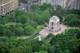 photo shows the ANZAC War Memorial as a commemorative military monument in Sydney