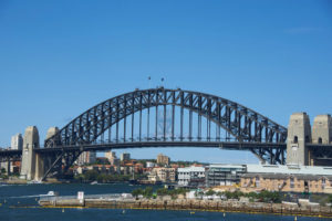 picture of Sydney Harbour Bridge at Port Jackson